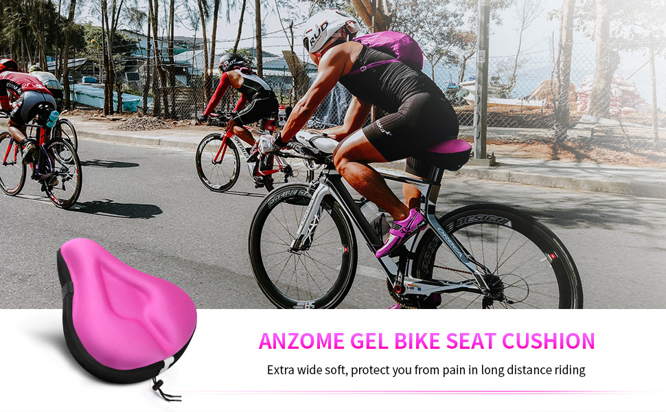 ANZOME is a brand which focus on kinds of outdoors sports products. Bicycle cushion is one of them.