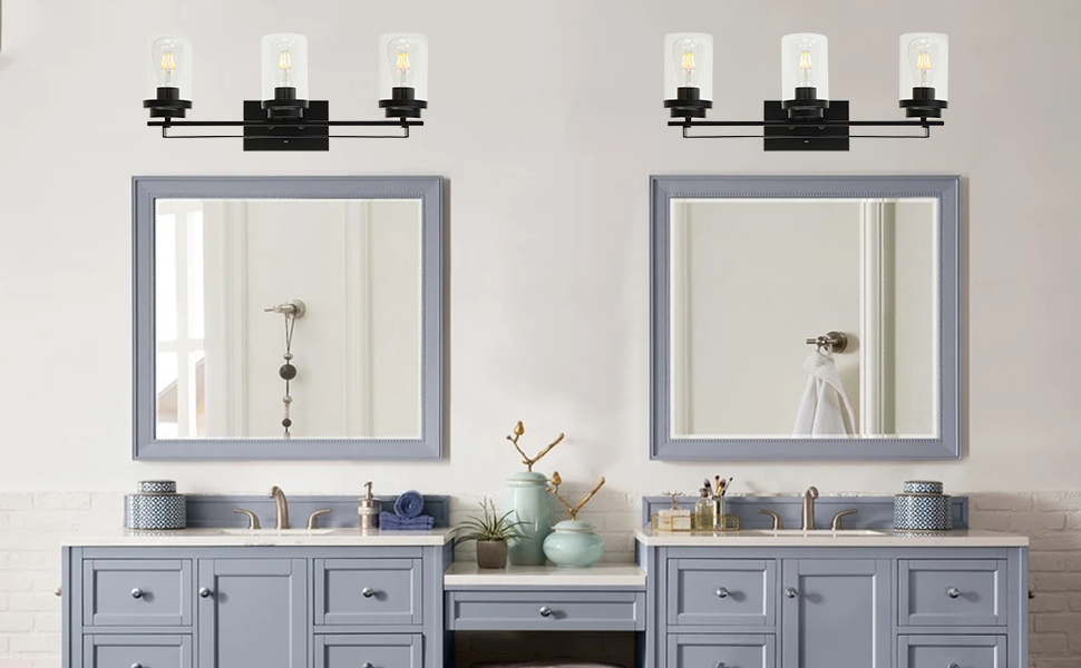 3-light sconces wall lighting