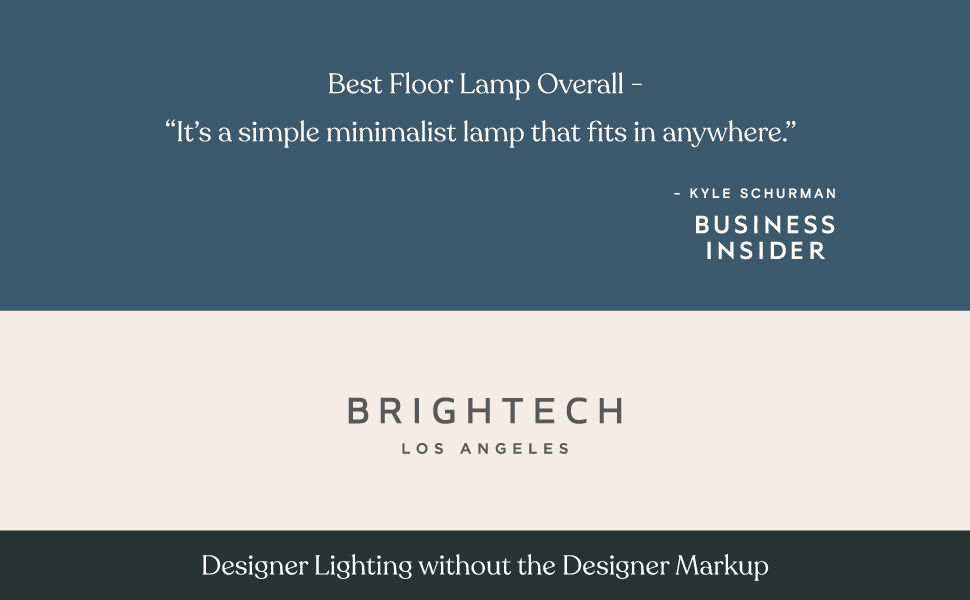 Brightech – Sky Dome Plus - Dimmable Modern Standing LED Floor Lamp