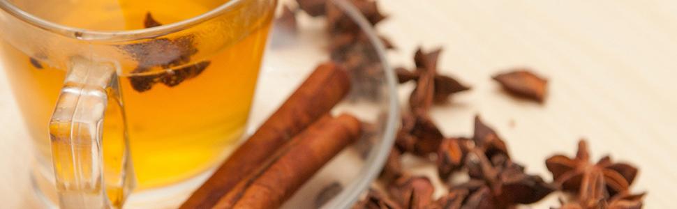 elephant chateau cinnamon tea
