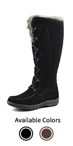 Women's Fur Lined Insulated Winter Boots Warsaw
