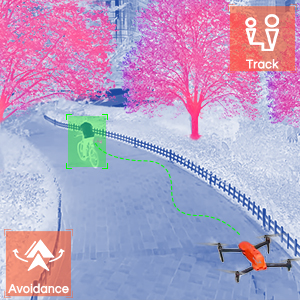 Autel 8K Foldable Drone Video Camera Quadcopter Omnidirectional Obstacle Avoidance Dynamic Track 2.0