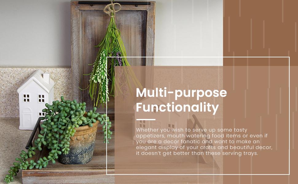 Multi purpose functionality