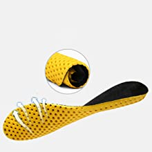 Breathable honeycomb insole