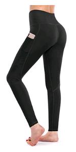 Hohe Taille Sport Leggings Fitness Lange Yogahose Sporthose Leggins