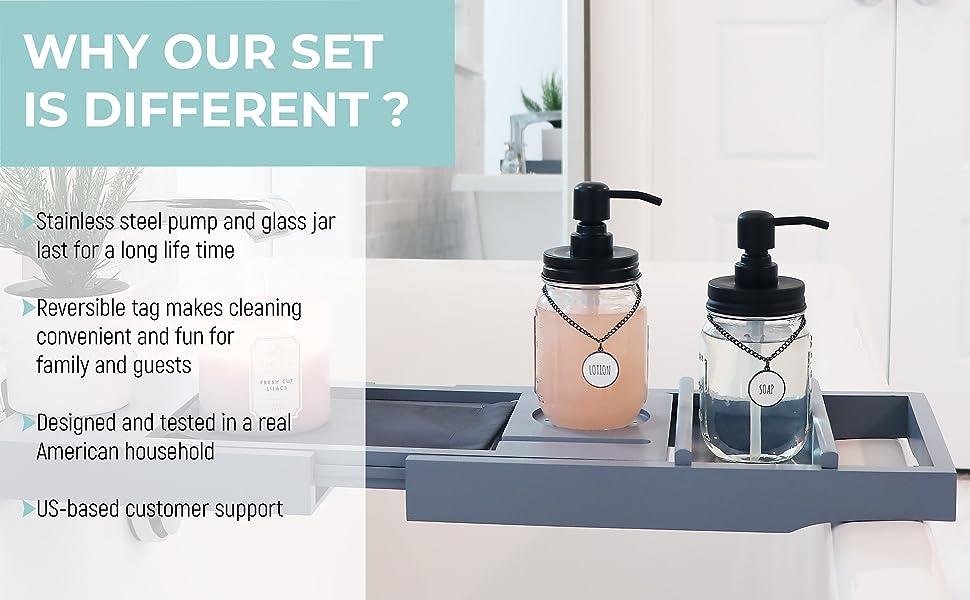 soap dispenser; mason jar soap dispenser