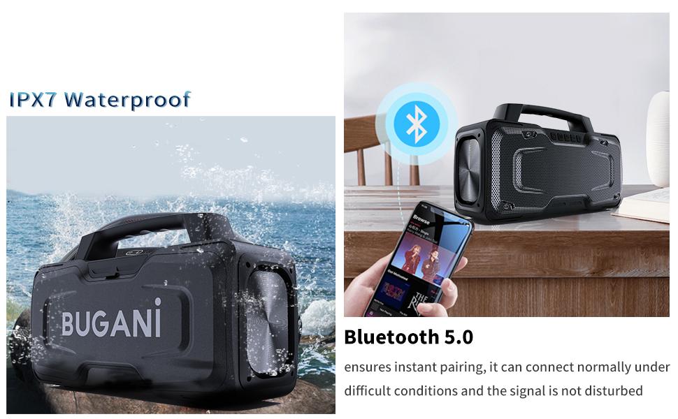 IPX7 Waterproof