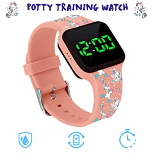 potty training watch for boys and girls