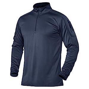 men's athletic shirts long sleeve moisture wicking hiking golf polo tee shirt adventure travel