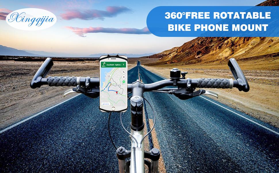 Bike phone mount Bike phone holder