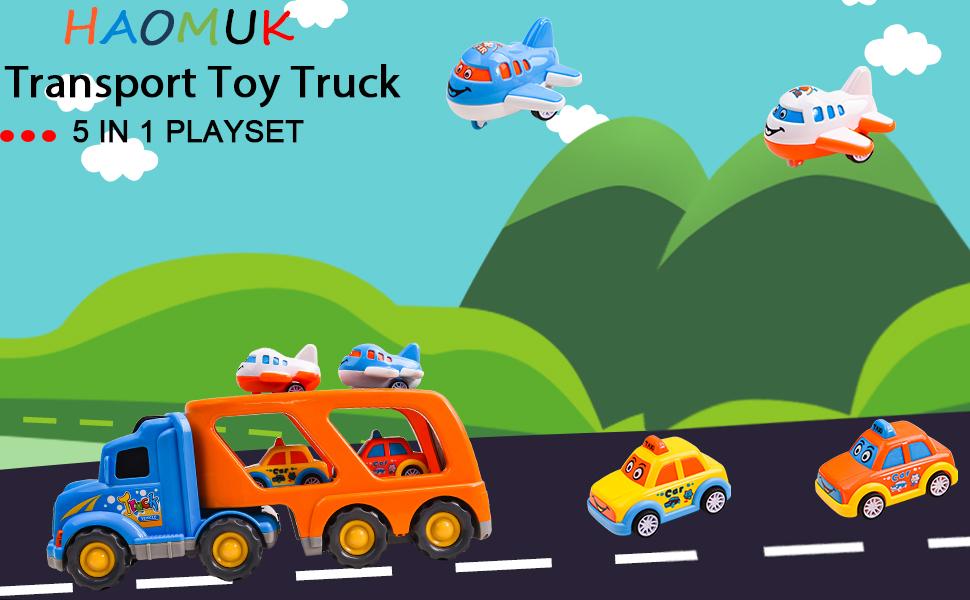 Transport toy truck