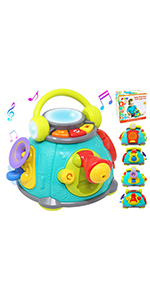Musical Activity Cube