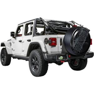 Boomerang Jeep Wrangler JL Rigid Mud Truck Tire Cover