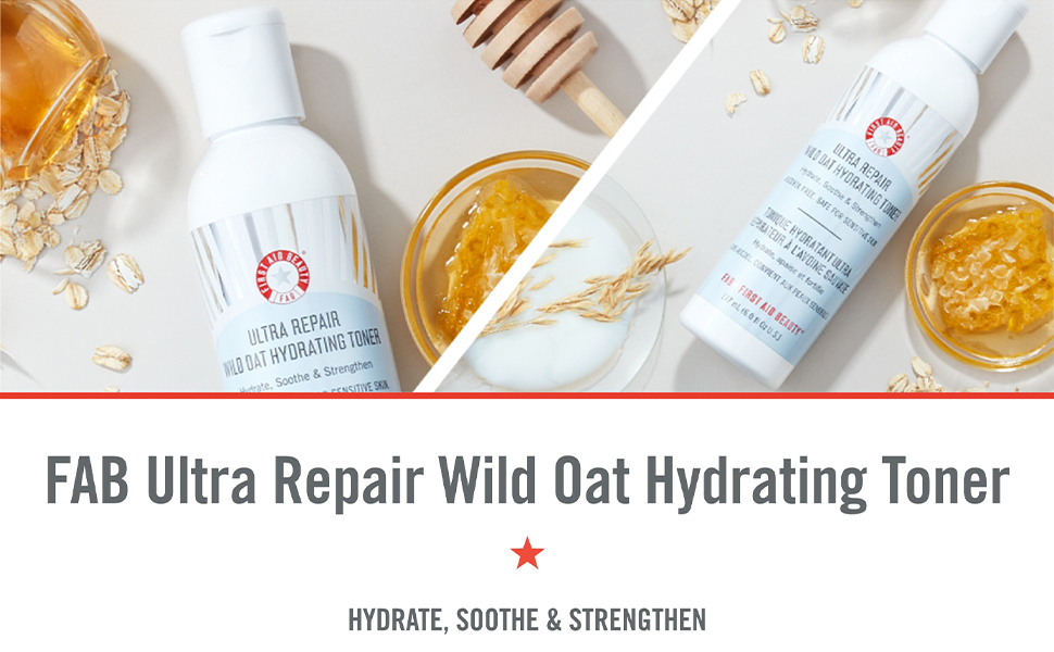FAB Ultra Repair Wild Oat Hydrating Toner