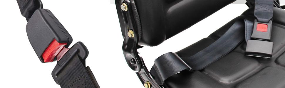 2 point seat belt