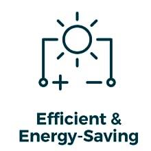 efficient & energy-saving