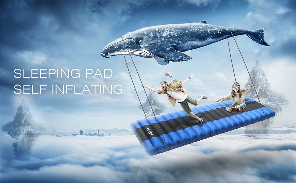 self inflating pads