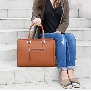 David Jones Damen-Handtasche aus PU-Leder