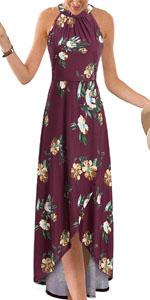 Floral Maxi Long Dress