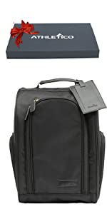 Executive Golf Shoe Bag w/Luggage Tag Gift Set