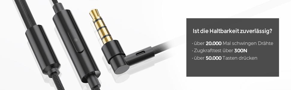 4D Stereo In Ear Kopfhörer mit Kabel huawei, samsung