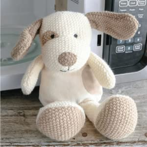 Wild Baby Microwaveable Knitted Dog Plush Pal