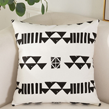 black pillow covers