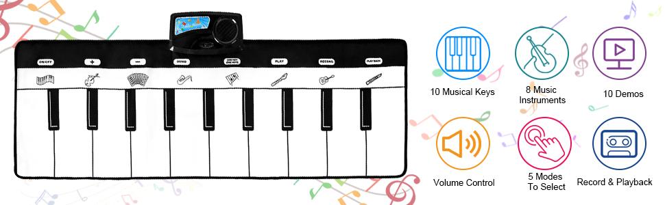 MULTIFUNCTION PIANO MAT