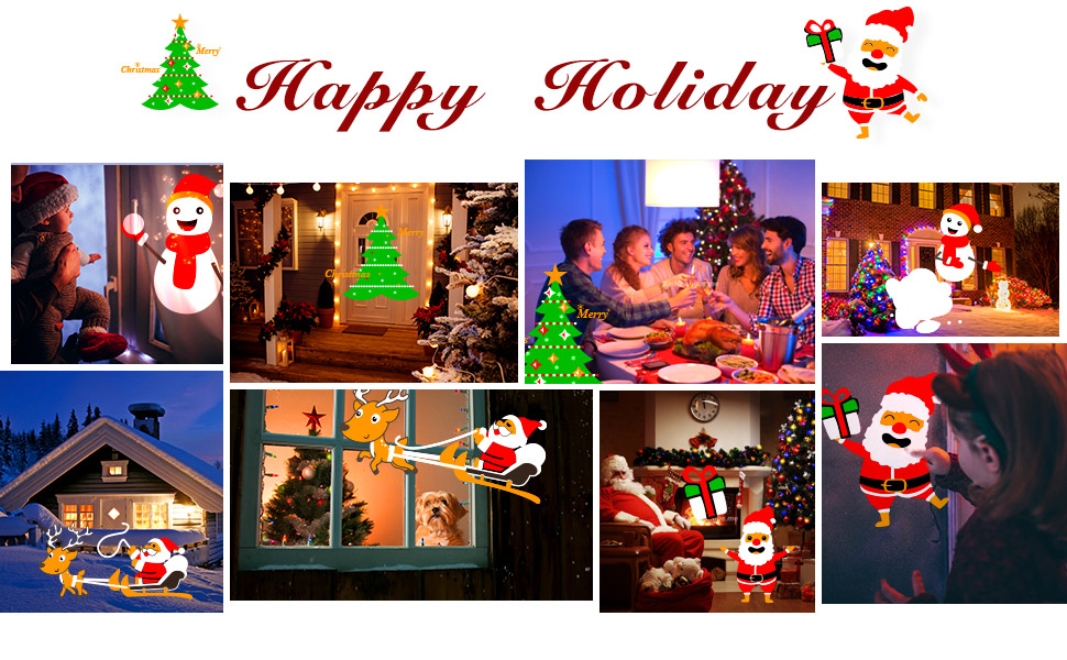 FANLIDE Christmas Projector Lights
