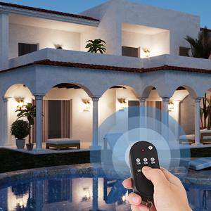 RF remote control wireless light switch kit