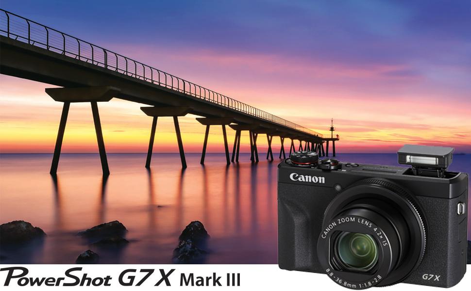 Powershot G7x Mark III Hero Top Image