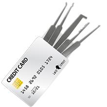 Ganzua tarjeta de credito