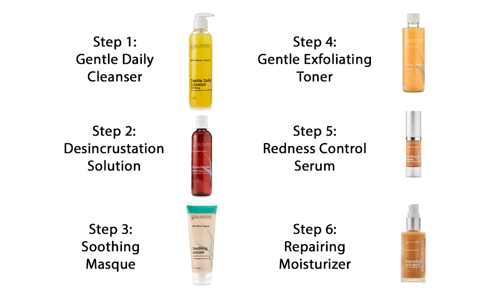 desincrustation solution steps