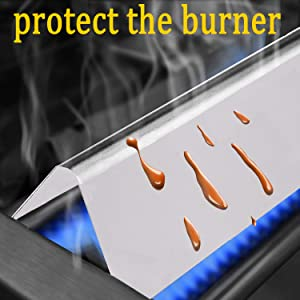 Flavorizer Bars Have High Temperature Resistance and Protect the Burner from Grease
