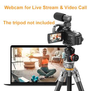 4K Webcam Video Camera