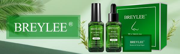 BREYLEE Tea Tree Oil Blackhead Removing Kit