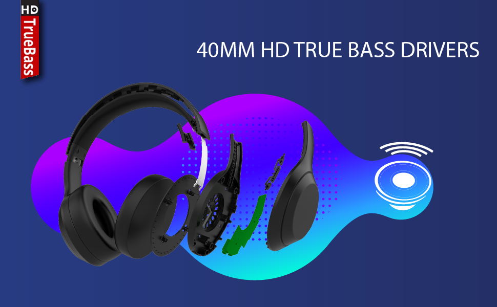 Lumiford HD50 Wireless Headphone, HD50 Bluetooth Headphone, Lumiford Headphones, Lumiford Bluetooth