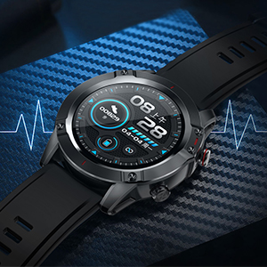 martwatch with Heart Rate