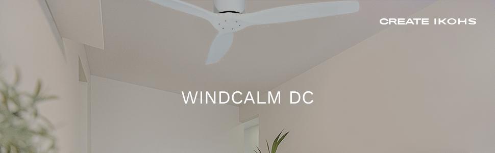 IKOHS WINDCALM DC - Ventilador de Techo con Mando, Bajo Consumo ...