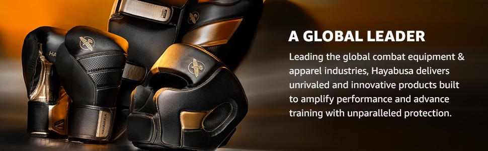 Boxing GLoves, Head Gear, Shin Guards, Black, Gold