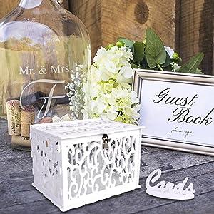 card box for wedding