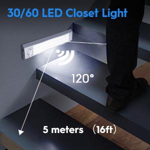 30led 60led closet light