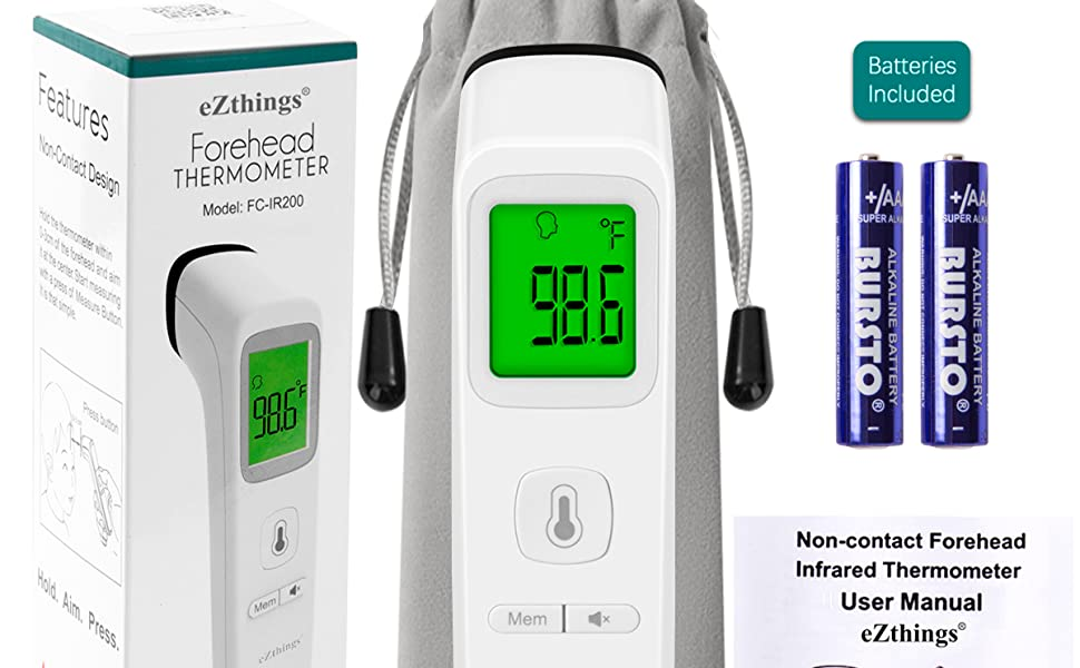 Infrared with Fever Alarm