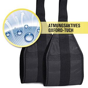 DOBEN Correas colgantes para dispositivos de entrenamiento de abdominales con anillas en D, resistentes al desgarro, par para barra de dominadas, ...