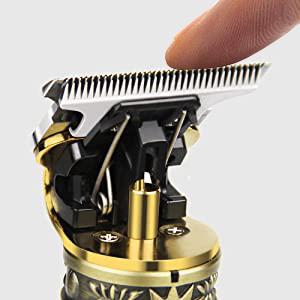 titanium trim hair trimmer