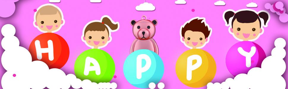 happy pink bear usb flash drive 64gb
