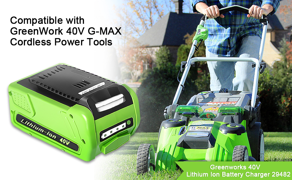 Greenworks 29472 battery replacement
