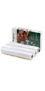 3 Pack 11quot;x16' Vacuum Sealer Bags