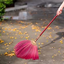 blossom broom housewarming gifts sweeping fan soft straw broom wedding jumping broom handmade