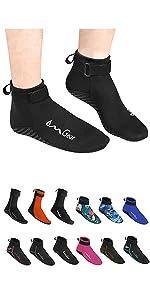 neoprene water socks diving booties wetsuit booties